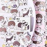 TTBH Kawaii Panda Juvenile Cute Sticker Custom Stickers Diary Stationary Flakes Scrapbook DIY Decorative Stickers
