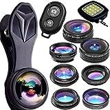Lenti Smartphone E Iphone Di Lens Of Horus - Kit Di Lenti 9 In 1 Universali E Professionali - Le Uniche Lenti Che Rendono Le Tue Foto EXTRA-Ordinarie -...