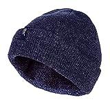 HEAT HOLDERS - Homme 3.6 tog Beanie Chapeau Thermique Polaire Chaud Hiver dans Gris, Bleu et Noir...