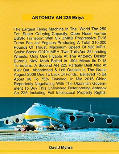 Antonov AN 225 Mriya (English Edition)