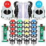 EG Starts 2 joueurs classique Arcade Contest Kit de bricolage USB Encoder Pour...