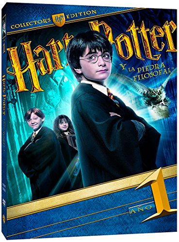 Harry Potter Y La Piedra Filosofal. Nueva Edición Con Libro [DVD]