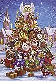 Canine Christmas Tree Advent Calendar (Countdown to Christmas)