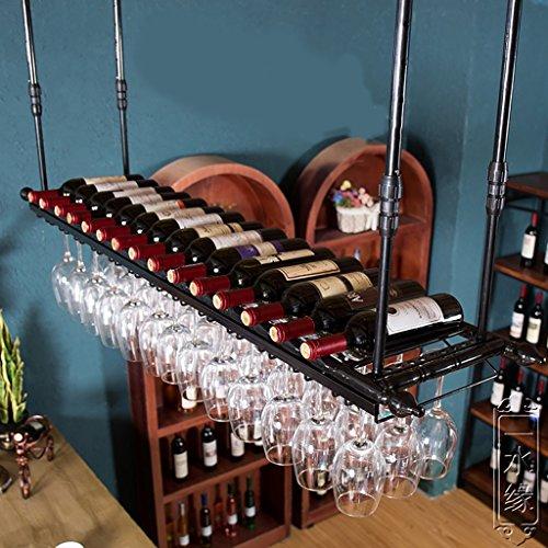 Wmju Portabottiglie Portabottiglie, Porta Bicchieri, calici creativi, portabottiglie per Bar da...