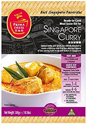 All Natural and Authentic Ready-toCook Sauce Kit Medium Hot Product of Singapore