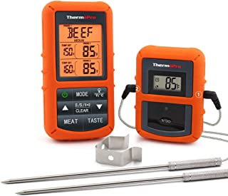 ThermoPro TP20 Wireless Remote Digital Cooking Food Meat Thermometer with Dual Probe for..
