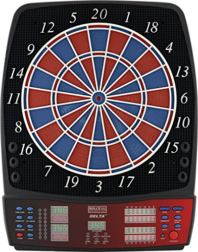 BULL\'S Delta Iv Russ Bray Sound Elektronik Dartboard, Mehrfarbig, 59 x 46 cm