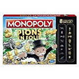 Hasbro - C00871010 - Jeu - Monopoly Pions en Folie