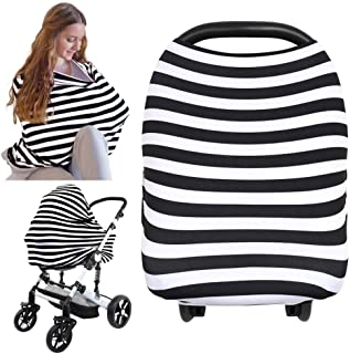 Carseat Canopy Cover – Baby Nursing Cover – All-in-1 Nursing Breastfeeding..