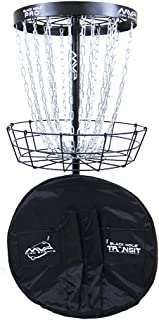 MVP Black Hole Pro 24-Chain Portable Disc Golf Basket Target & Accessories