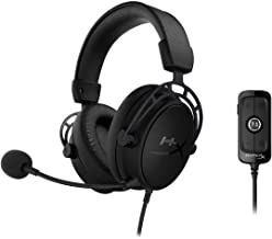 HyperX Cloud Alpha S – PC Gaming Headset, 7.1 Surround Sound, Adjustable Bass, Dual..