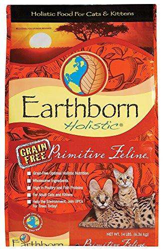 Earthborn Grain Free Primitive Feline 14 lbs