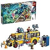 LEGO-Hidden Side Le bus scolaire paranormal Jeu de Construction Interactif de Chasse Aux Fantômes Réalité Augmentée pour iPhone Android Garçon et Fille 8 Ans et Plus, 689 Pièces 70423