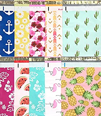 Sample Variety Pack ~ 30 Pcs Total - 3 Pcs Each of ( Anchor, Daisy, Hibiscus, Arrow, Cactus, Pink & Mint Aloha, Watermelon, Flamingo, Pineapple ) 10 Different Styles! Unsurpassed Water & Tear Resistance - Superior side seams combined with Heavy Duty ...