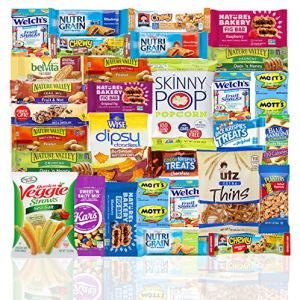 Healthy Snacks Care Package (Count 30) - Discover a whole new world of Healthy Snacks - Snack Variety Gift Basket Adults… 35