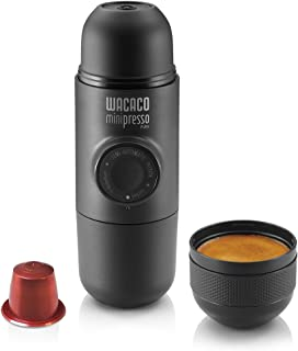 Wacaco Minipresso NS, Portable Espresso Machine, Compatible Nespresso Original Capsules..