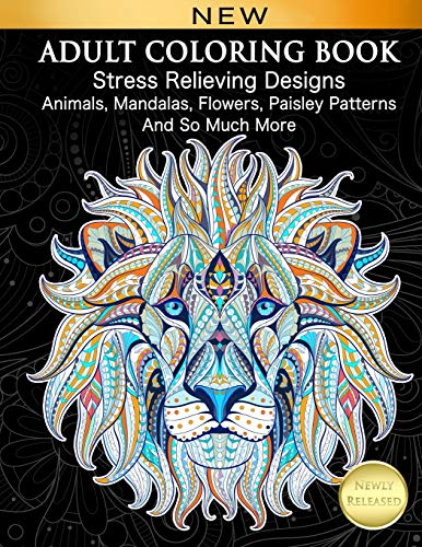 617MwURr1bL - The 7 Best Adult Coloring Books - A Creative Way to Unwind