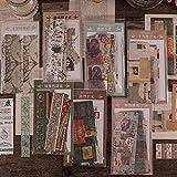 BLOUR 30pc / Bolsa Retro Time Ticket Sticker Package Collection Vintage Travel Planificador Diario Álbum de Fotos Scrapbooking Pegatinas estacionarias