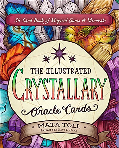 The Illustrated Crystallary Oracle Cards: 36-Card Deck of...