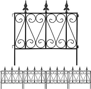 Amagabeli Garden Fence Rustproof Metal Wire Fencing 24inx10ft Outdoor Landscape..