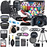 Canon EOS Rebel T7i DSLR Camera Deluxe Video Creator Kit with Canon EF-S 18-55mm f/3.5-5.6 is STM...