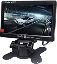 Padarsey 7 Inch LED Backlight TFT LCD Monitor for Car Rearview Cameras, Car DVD,..