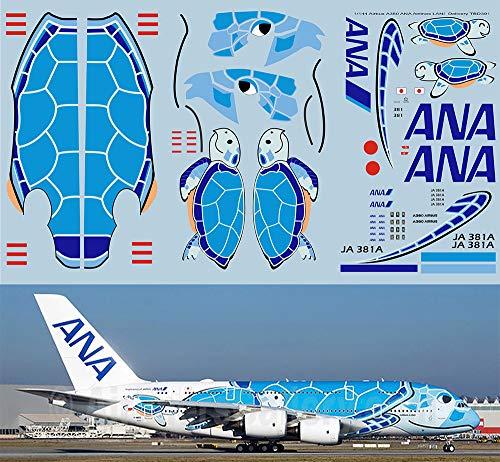 デカール 1/144 Airbus A380 ANA Airlines LANI JA 381A Delivery Decals TB Decal TBD391