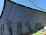 YGS Perfect Sunblock Shade Cloth with Grommets 70% 10 ft x 20 ft Black for Plant Cover Greenhouse Barn Kennel Pool Pergola or Swimming Pool