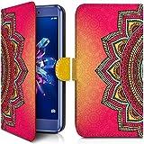 KARYLAX Etui Portefeuille Universel M [IMP-CO22] pour Smartphone Hisense F17 Pro