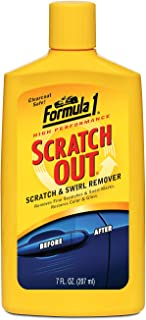 Formula 1 Scratch Out – Scratch Remover for All Auto Paint Finishes – 7 oz...