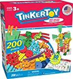 TINKERTOY 30 Model 200 Piece Super Building Set - Preschool Learning Educational Toy for Girls and Boys 3+ (Amazon Exclusive) (Toy)
