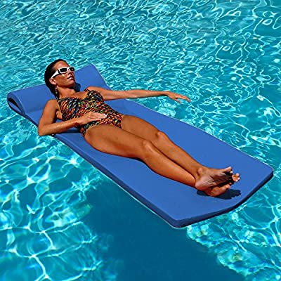 """70"""" L x 26"""" W x 1.75"""" Thick Soft, smooth, vinyl-coated foam that is easy to clean and resistant to sun, chlorine, and salt water Soft, smooth, vinyl-coated foam that is easy to clean and resistant to sun, chlorine, and salt water The full-roll pillow..."""