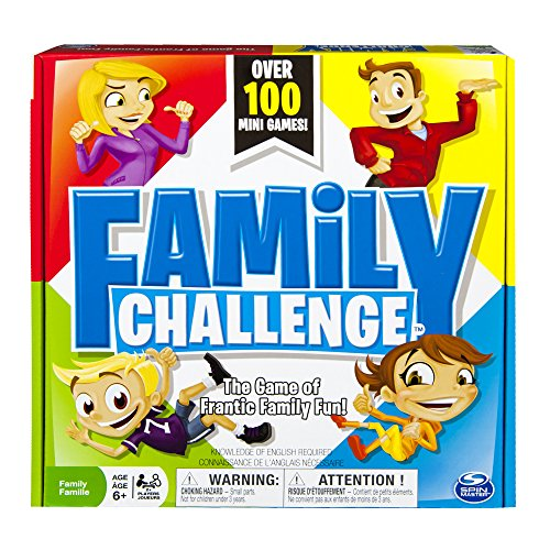 Spin Master Games Beat The Parents Family Challenge Board Game, Multicolor (6023133)