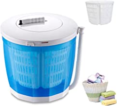 YDCW Mini Portable Washing Machine,Manual Non-Electric and Clothes Spin Dryer Compact..