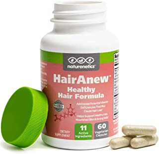 HairAnew (Unique Hair Growth Vitamins with Biotin) – Tested – for Hair, Skin..