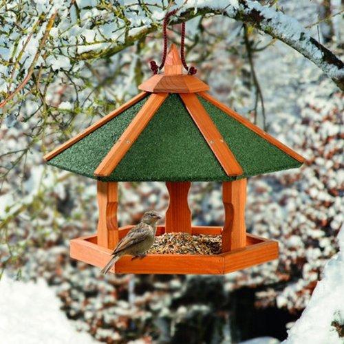 Karlie Bird\'S World Wild Vogelhaus Rena 42,5 x 42,5 x 36,5 cm, Naturholz