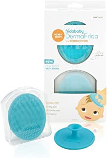 Baby Bath Silicone Brush by Fridababy | DermaFrida The SkinSoother Baby Essential for Dry..