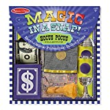 Melissa & Doug Magic in a Snap! Hocus Pocus Collection Magic Tricks Set (Professional Caliber Tricks, 12 Pieces, Great Gift for Girls and Boys  Best for 4, 5, 6, 7 and 8 Year Olds)