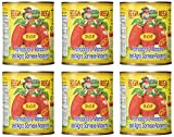San Marzano Dop Authentic Whole Peeled Plum Tomatoes (6 Pack), 1.75 Pound (Pack of 6)