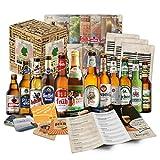 12 Cervezas alemanas en caja de regalo para l, padre, abuelo, amigo, novio, Da del Padre, cumpleaos, Navidad, Pascua, aniversario