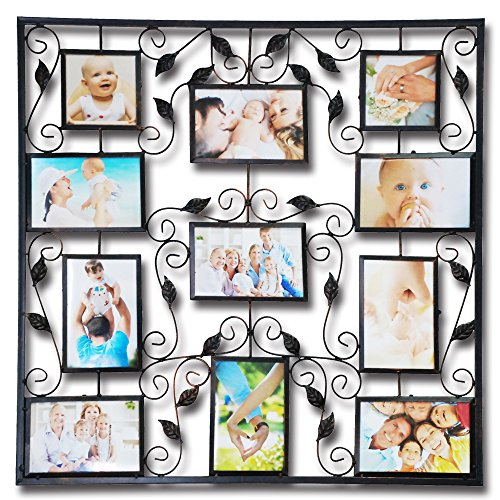 Abbie Home Picture Frame 11 Openings Plaque College Frame for...