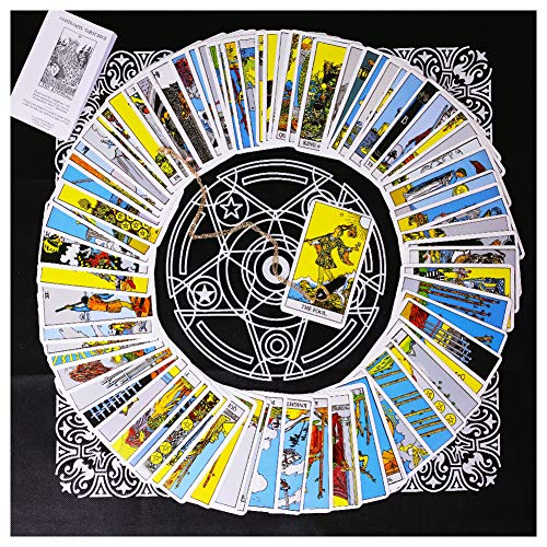 3 otters Tarot Card Deck, Tarocchi Tarotology Universal...