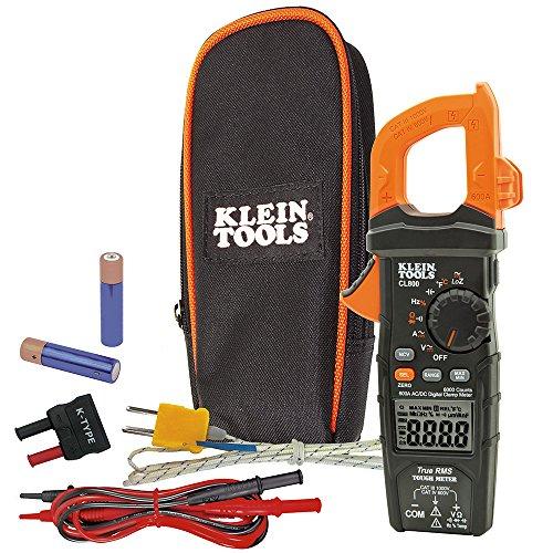 Klein Tools CL800 Multímetro Gancho CA y CD