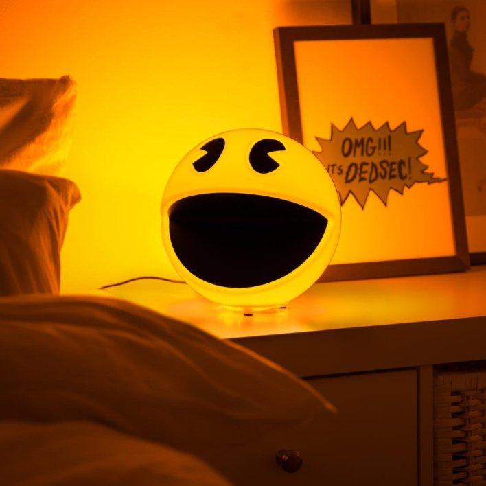 Pacman- Pac-Man - Lámpara con sonido, Multicolor (Branded Distribution PML) , color/modelo surtido