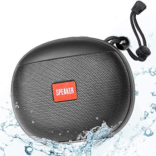 Enceinte Bluetooth Portable, Enceinte Bluetooth Waterproof IPX6 360° HD...