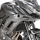 Defensa protector de motor Puig Kawasaki Versys 650 15-17 negro