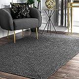 nuLOOM Wynn Braided Indoor/Outdoor Area Rug, 3' x 5', Charcoal