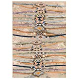 Liora Manne Indoor/Outdoor Rug, 3'3' x 4'11', Aztec