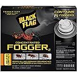 Black Flag 11079 HG-11079 6 Count Indoor Fogger, Clear