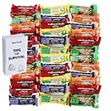 Millennium Energy Bars Assorted Flavors Including Emergency Guide (36 Packs)